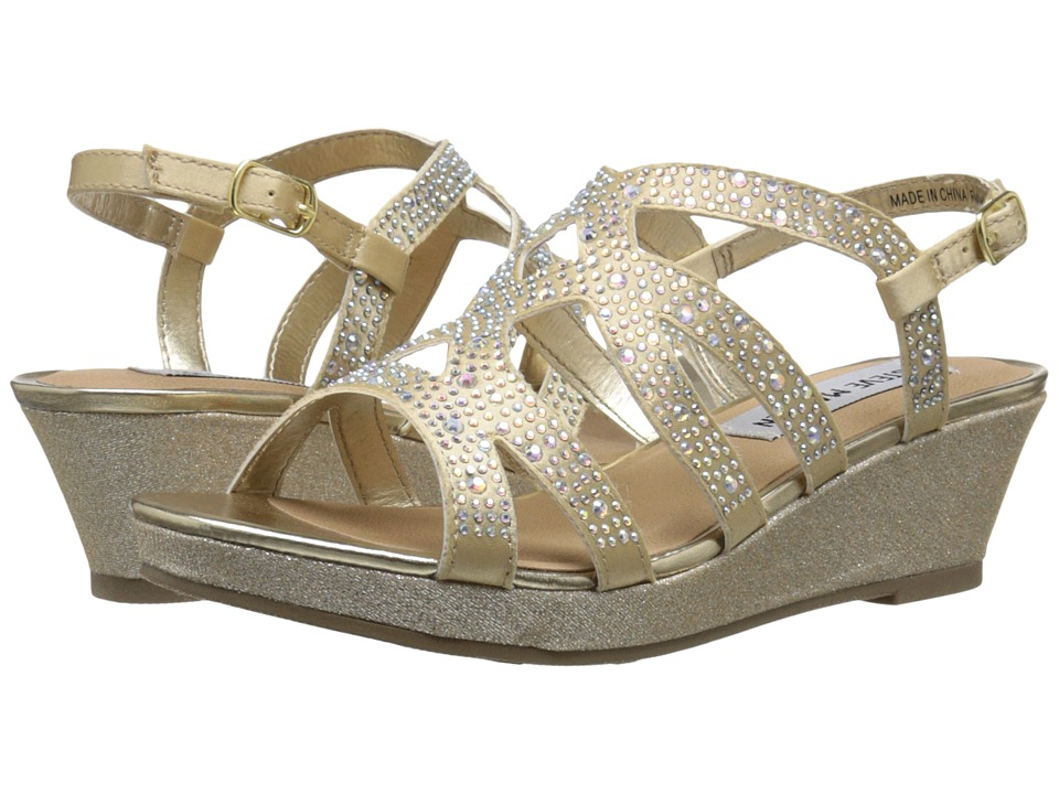 Steve Madden Kids - Jharperr (Little Kid/Big Kid) (Gold) Girl