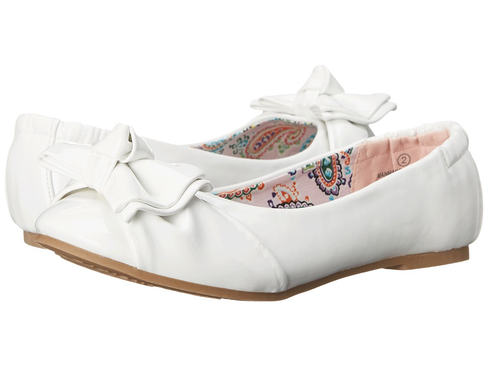 Steve Madden Kids - Jdarling (Little Kid/Big Kid) (White Patent) Girl