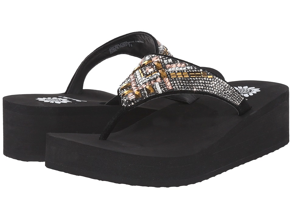 Yellow Box - Leona (Metallic Multi) Women's Sandals