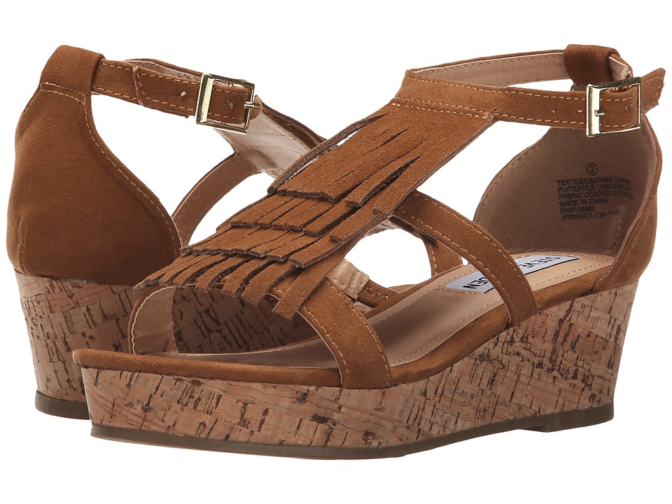 Steve Madden Kids - Jfringly (Little Kid/Big Kid) (Cognac) Girl