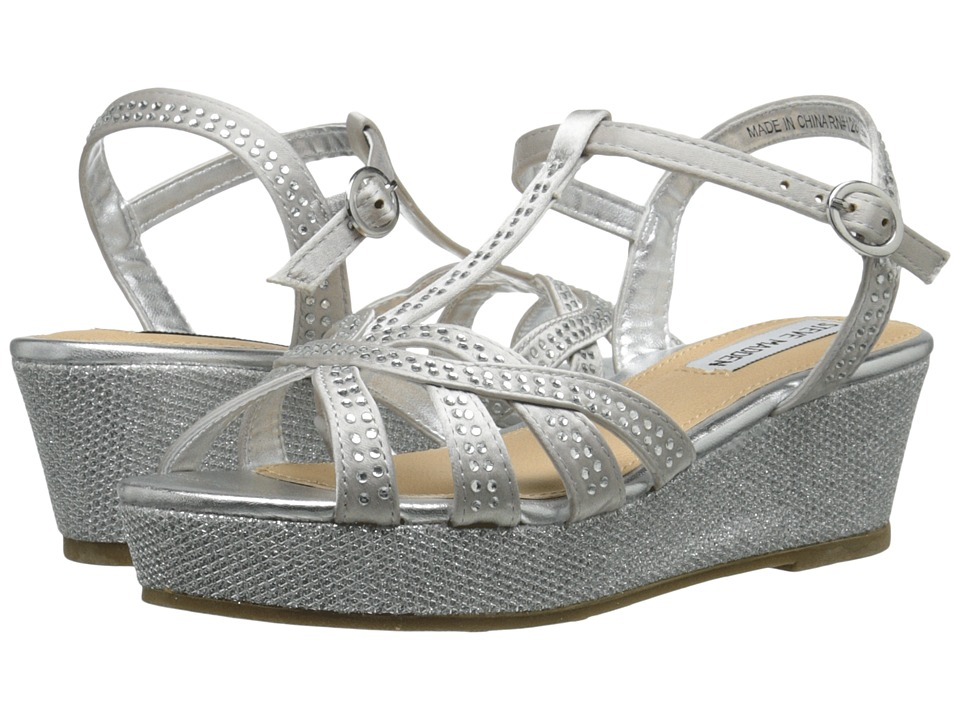 Steve Madden Kids - Jally (Little Kid/Big Kid) (Silver) Girl