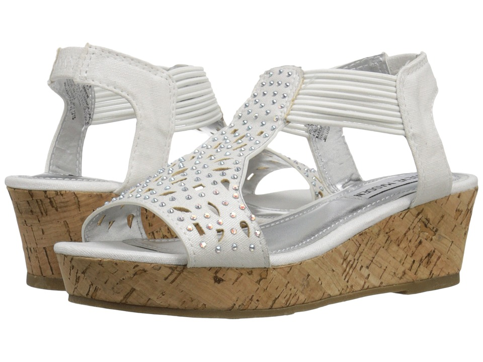 Steve Madden Kids - Jblushaa (Little Kid/Big Kid) (White) Girl
