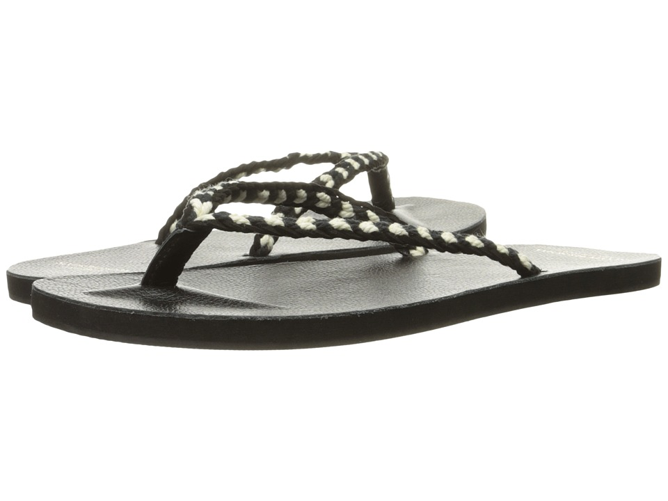 Scotch & Soda - Leather Flip Flop (Black) Men's Sandals