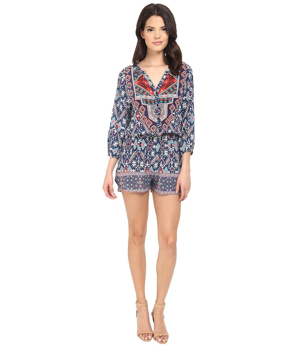 Tolani - Ingrid Romper (Aztec) Women's Jumpsuit & Rompers One Piece