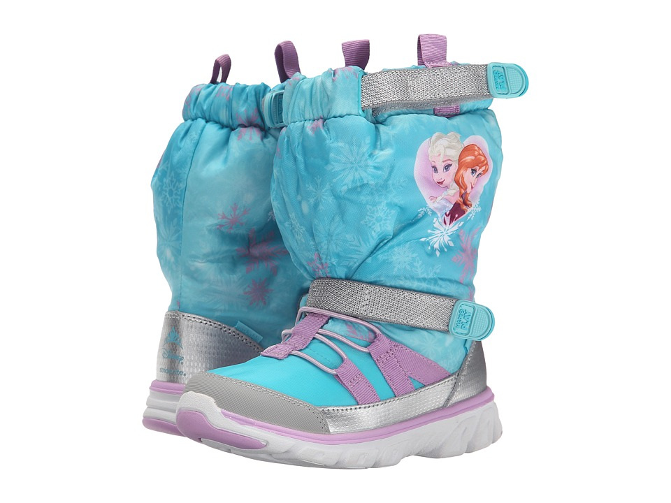 Stride Rite - Frozen Made 2 Play Sneaker Boot (Toddler/Little Kid) (Turquoise Multi) Girls Shoes