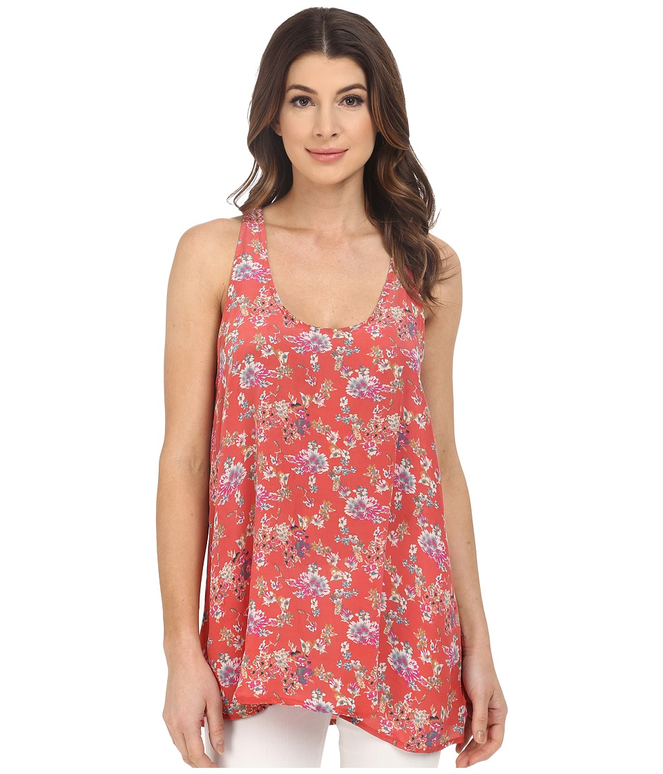Tolani - Ariel Tank Top (Coral) Women's Sleeveless