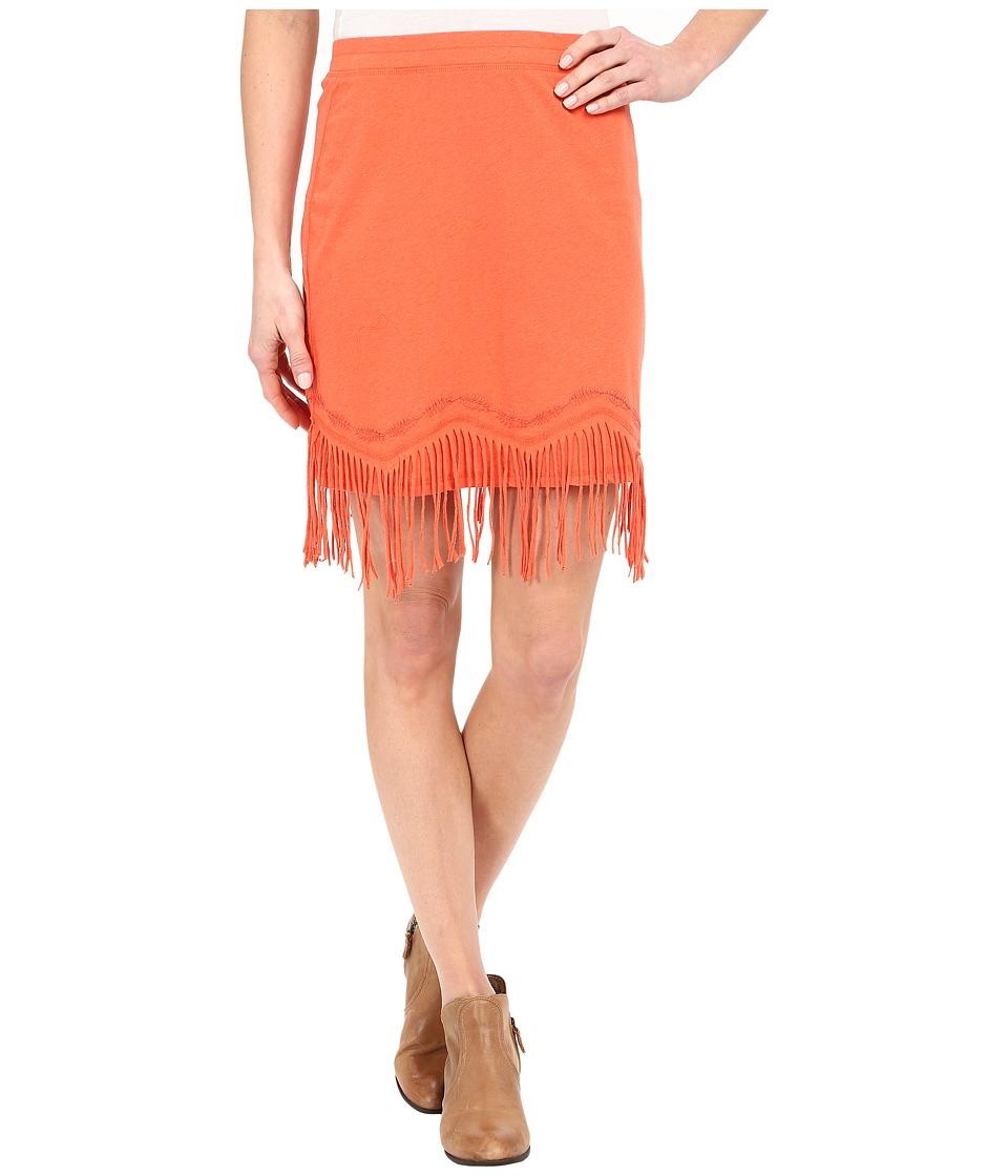 Double D Ranchwear Buckeye Boo Skirt (Apricot) Women