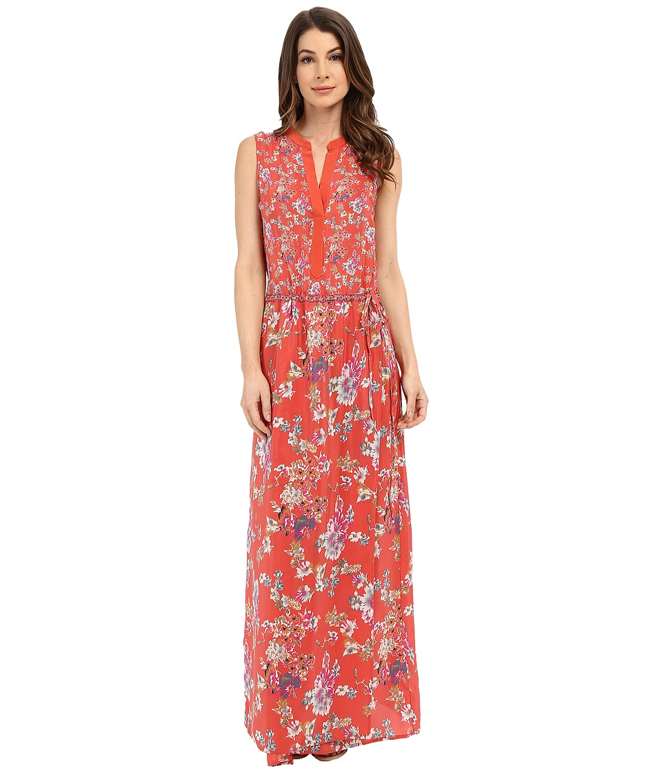 Tolani - Nadia Maxi Dress (Coral) Women's Dress