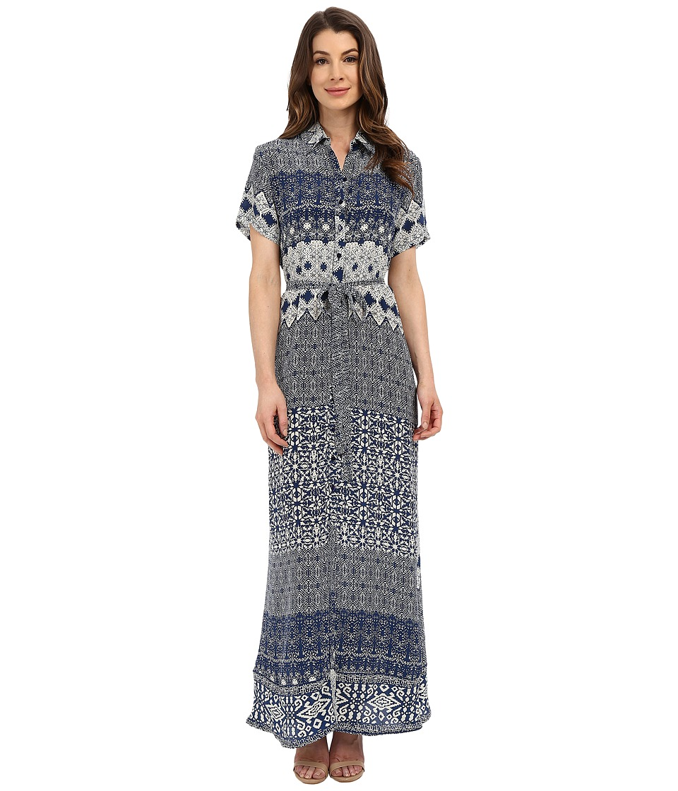 Tolani - Amanda Maxi Dress (Navy) Women's Dress