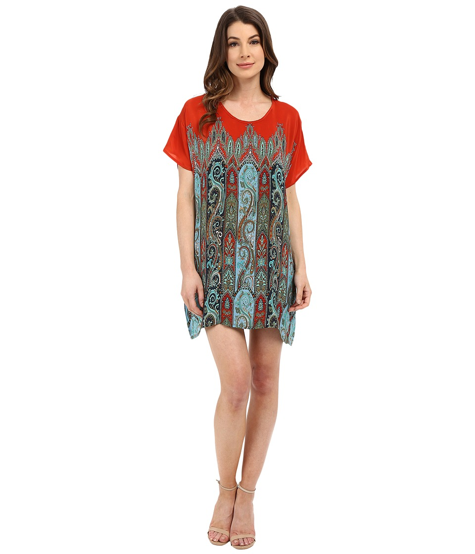 Tolani - Tiffany Mini Dress (Orange) Women's Dress