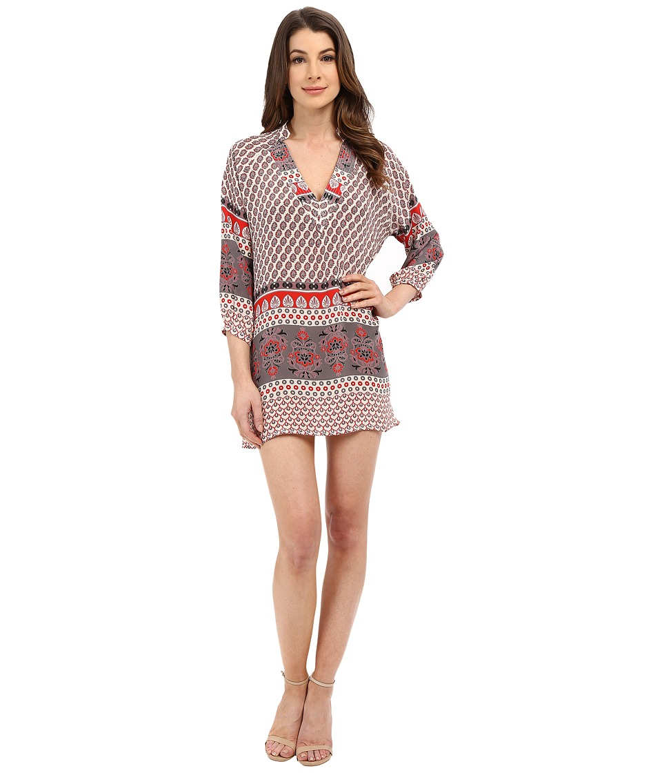 Tolani - Nisha Tunic Dress (Ivory) Women's Dress