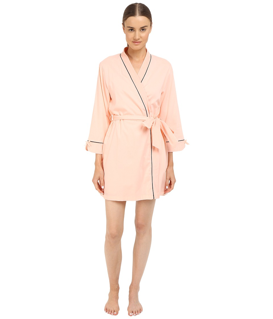 Kate Spade New York - Goodnight Terry Lined Wrap (Pink Sorbet) Women's Robe