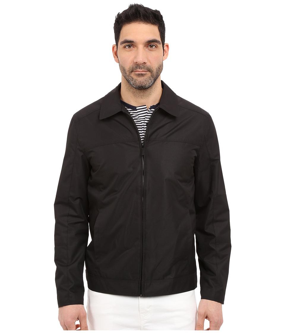 Perry Ellis - Dobby Tech Open Bottom (Black 1) Men's Coat