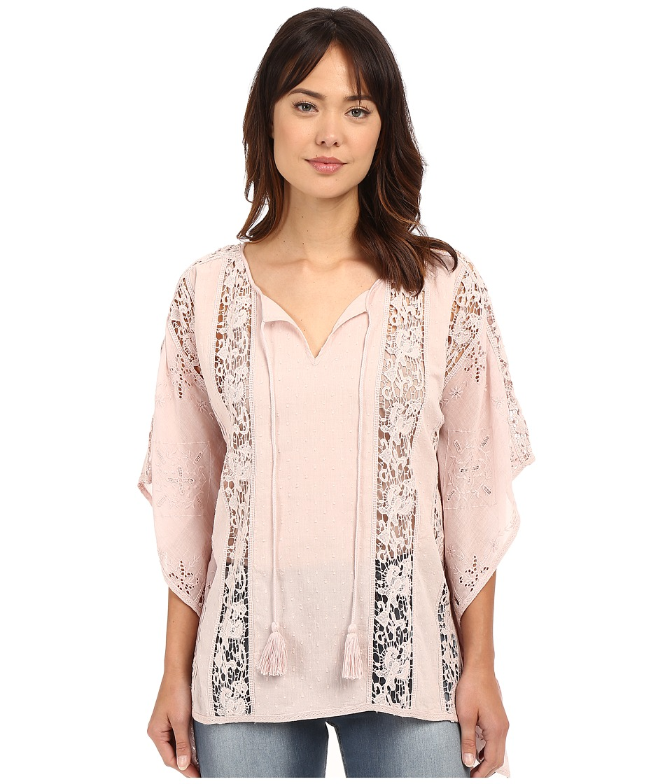 Tolani - Briyanna Lace Top (Rose) Women's Blouse