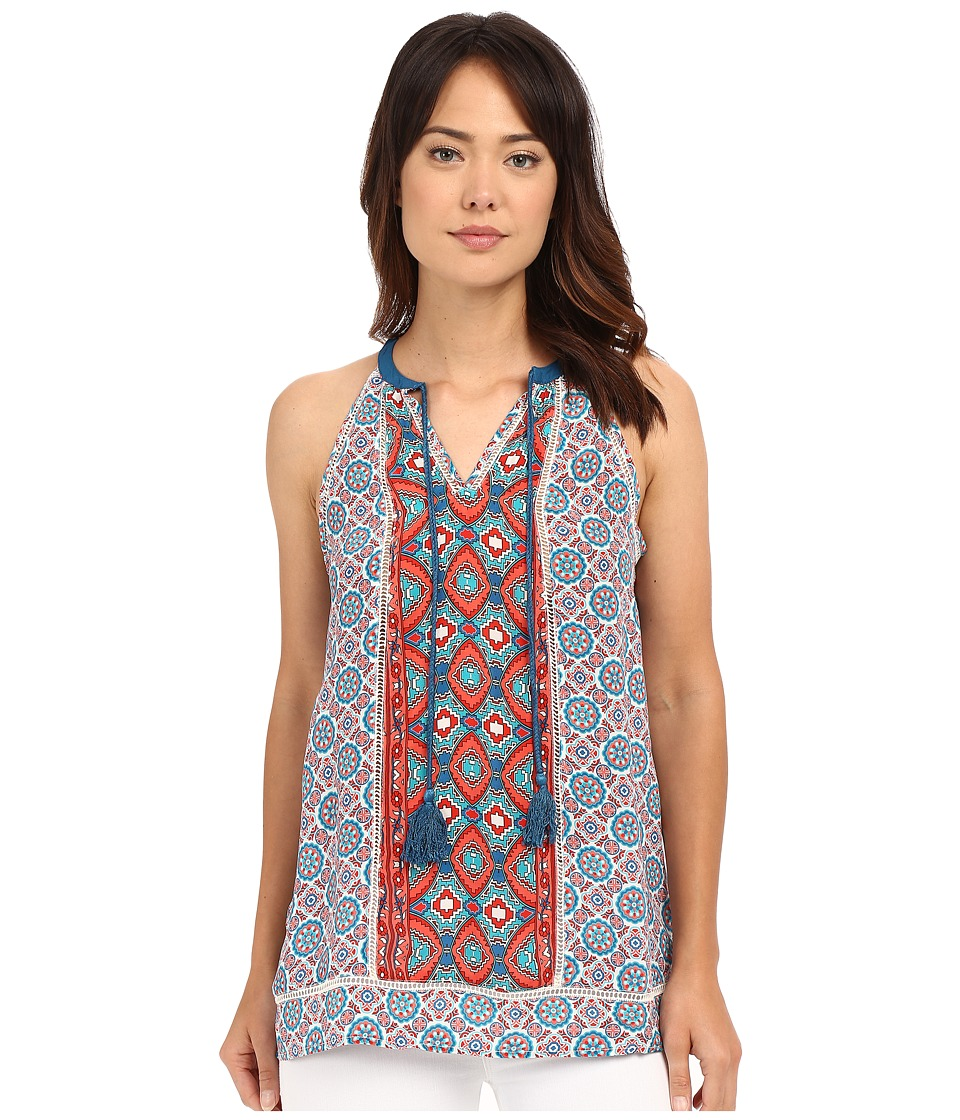 Tolani - Sachi Tank Top (Ikat) Women's Sleeveless