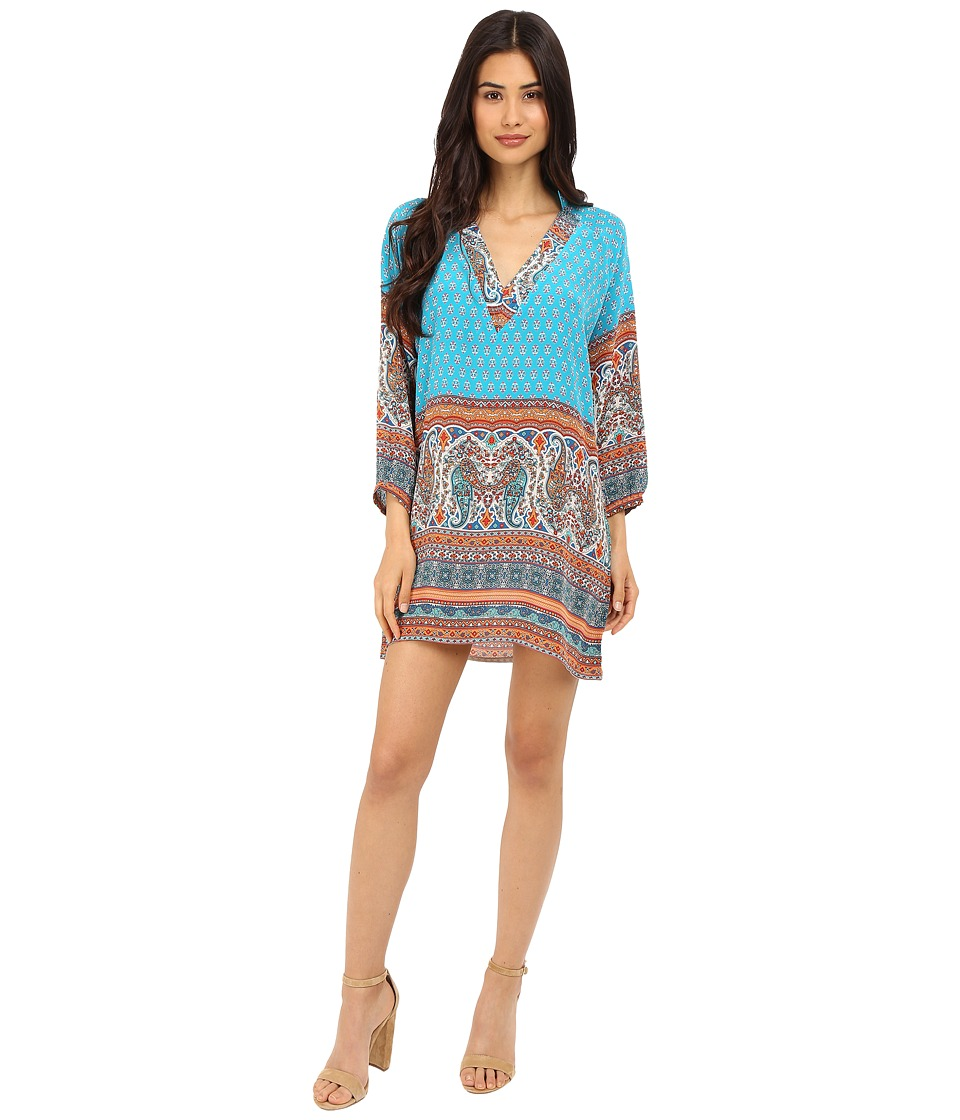 Tolani - Nisha Dress (Turquoise) Women's Dress