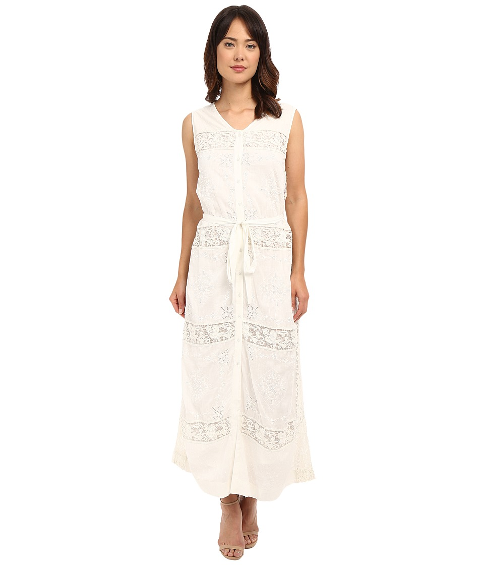 Tolani - Amanda Lace Maxi Dress (Ivory) Women's Dress