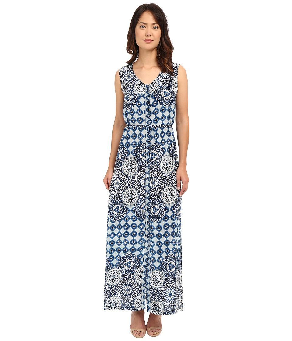 Tolani - Gemma Maxi Dress (Blue) Women's Dress