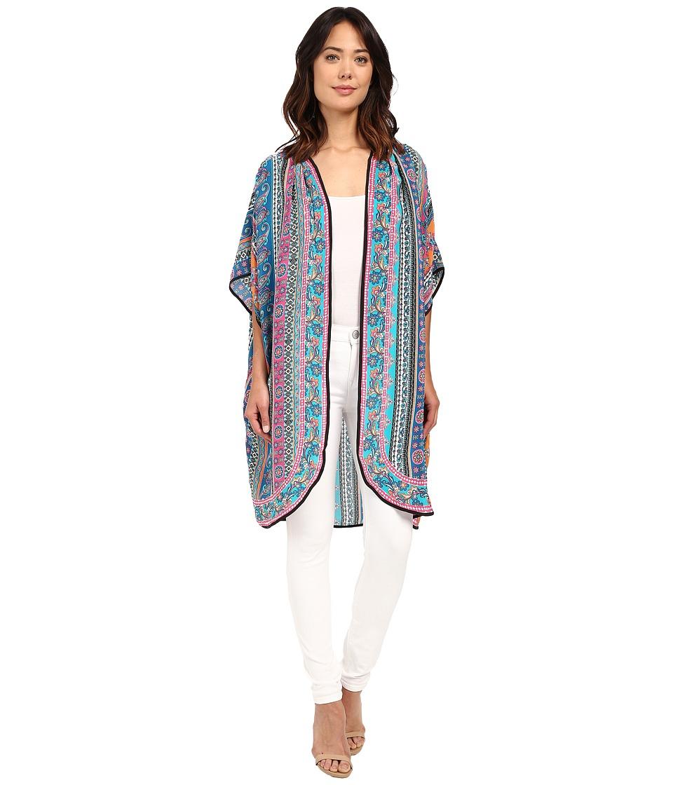 Tolani - Anyra Kimono (Multi) Women's Blouse