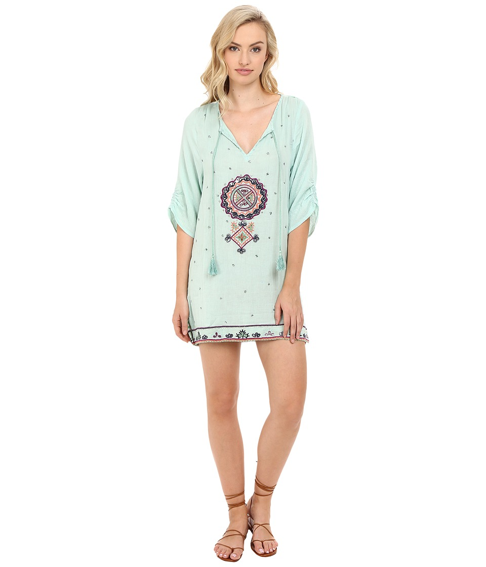 Tolani - Jenna Tunic Dress (Mint) Women's Dress