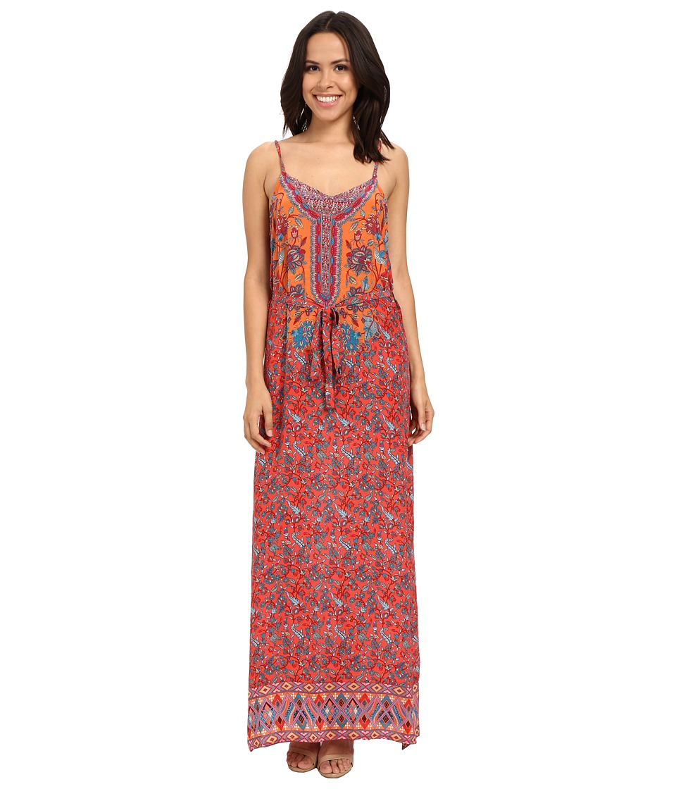 Tolani - Naomi Maxi Dress (Coral) Women's Dress