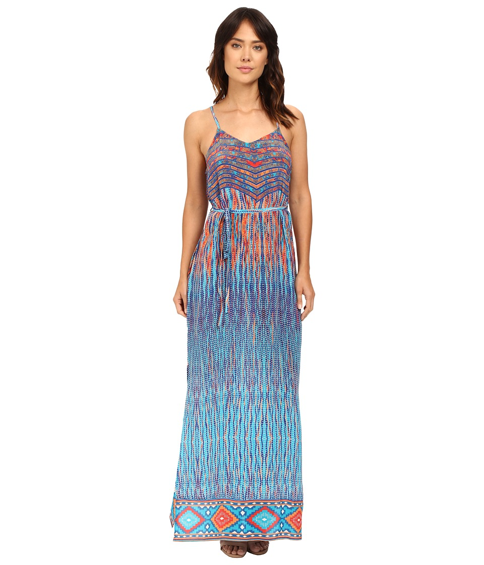 Tolani Naomi Maxi Dress (Cobalt) Women