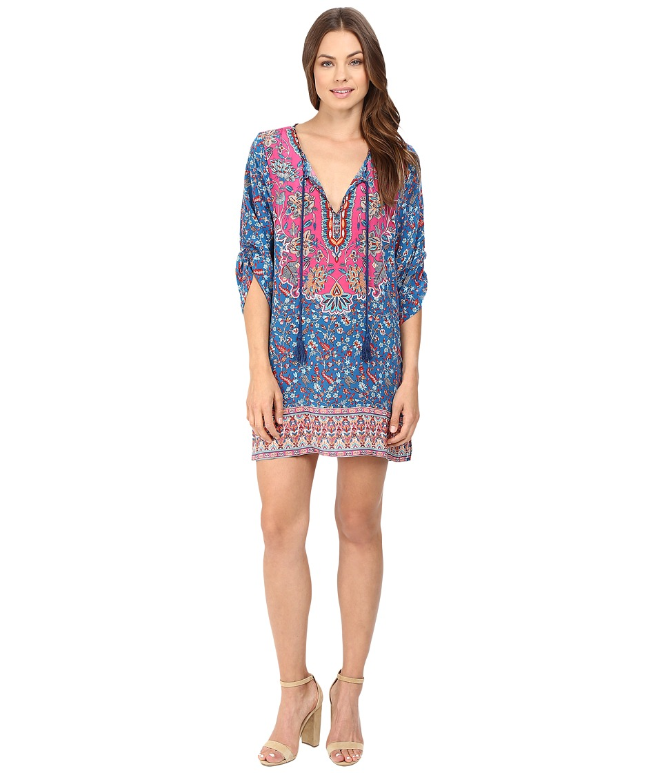Tolani - Sandy Tunic Dress (Denim) Women's Dress