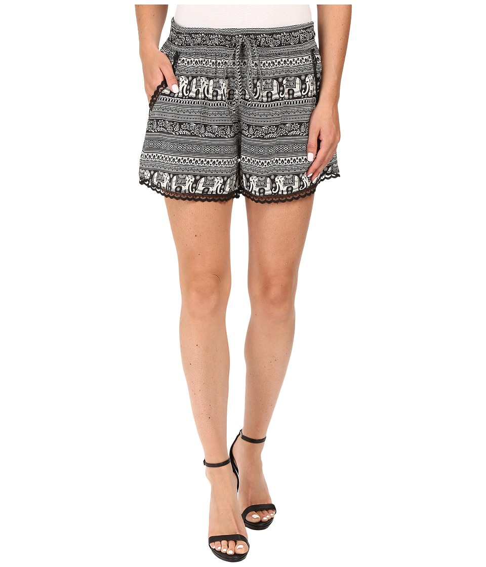 Tolani - Tara Shorts (Elephant) Women's Shorts