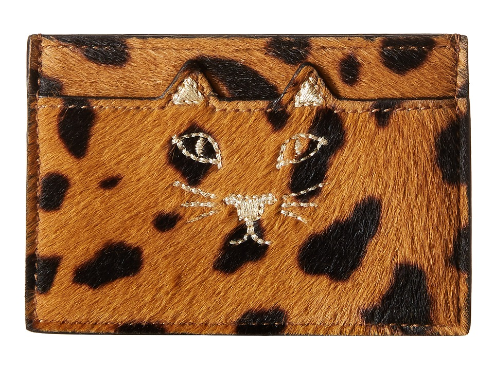 Charlotte Olympia - Feline Card Holder (Hyena) Credit card Wallet