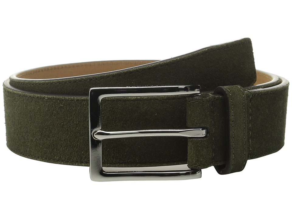Cole Haan - 32mm Suede (Fatigue) Men's Belts