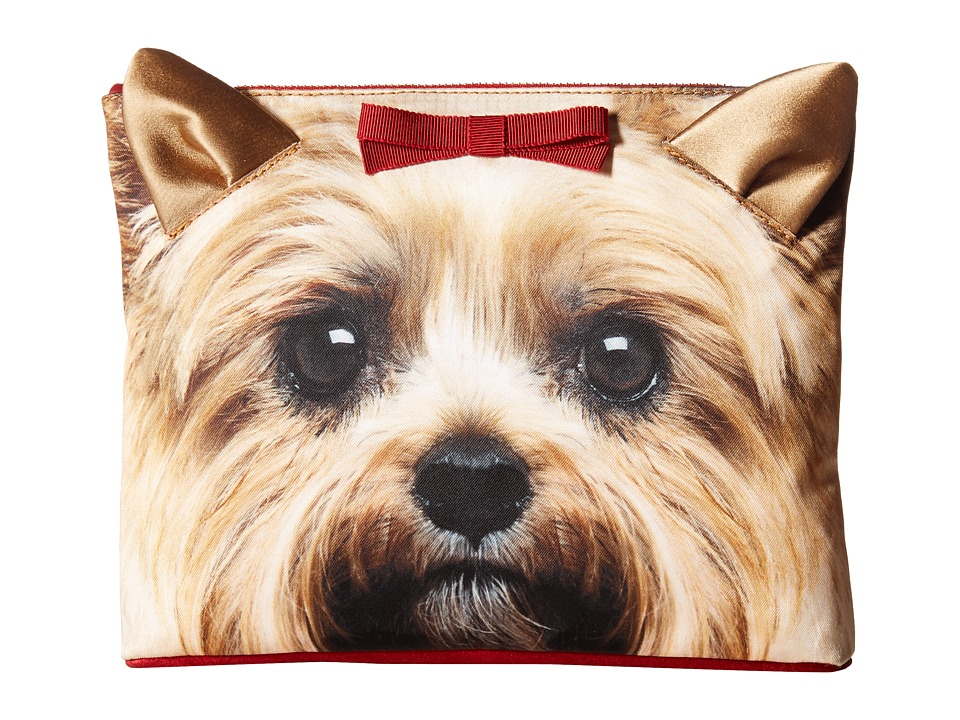 Charlotte Olympia - Puppy Pouch (Yorkie Print) Wallet