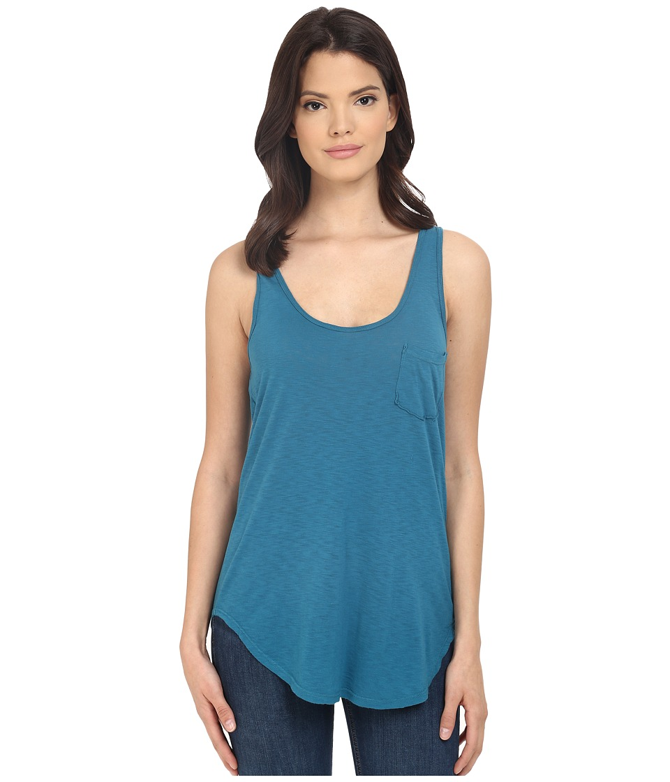 LAmade - Boyfriend Tank w/ Pocket (Aruba) Women's Sleeveless