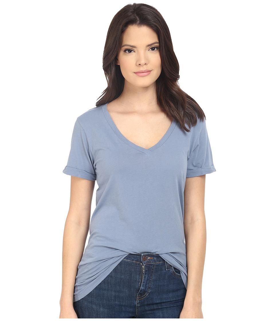 LAmade - Staple V S/S Tee (Fresia Blue) Women's T Shirt