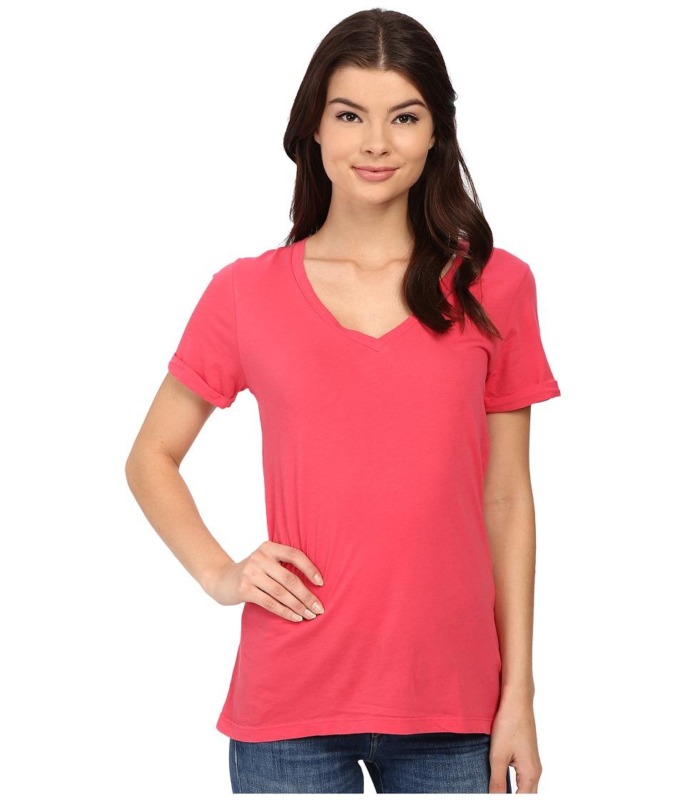 LAmade - Staple V S/S Tee (Rosso) Women's T Shirt