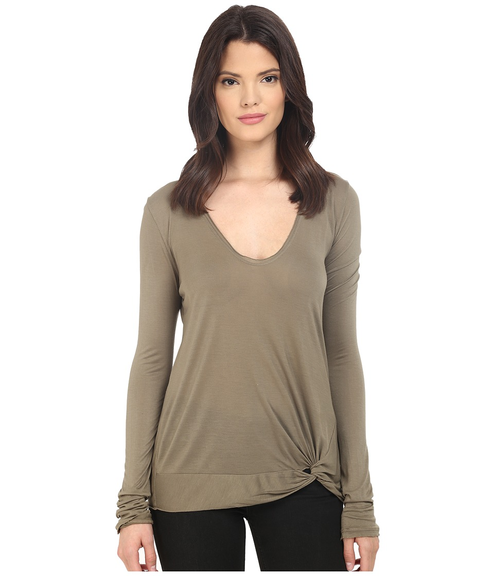 LAmade - Nessie Slinky Top (Musk) Women's Long Sleeve Pullover