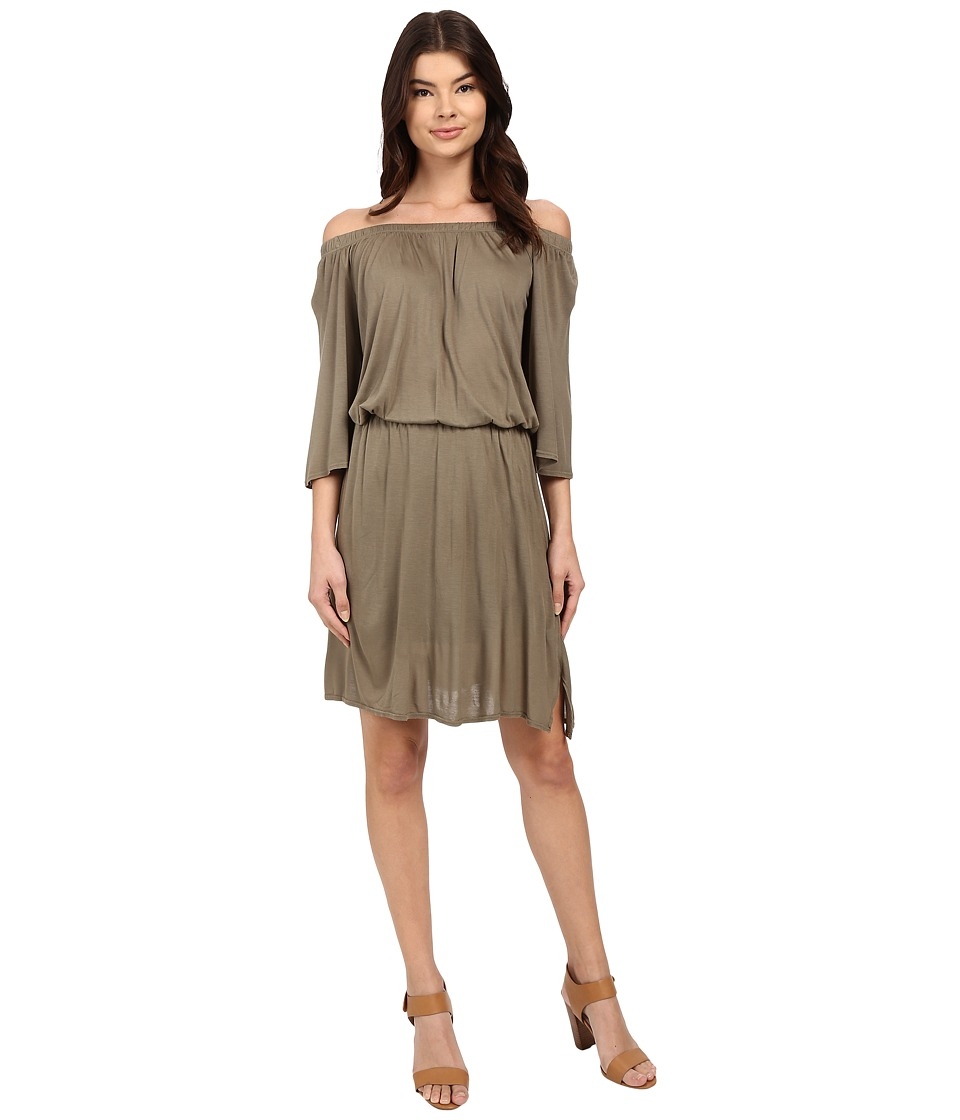 LAmade Lucia Off Shoulder Dress (Musk) Women