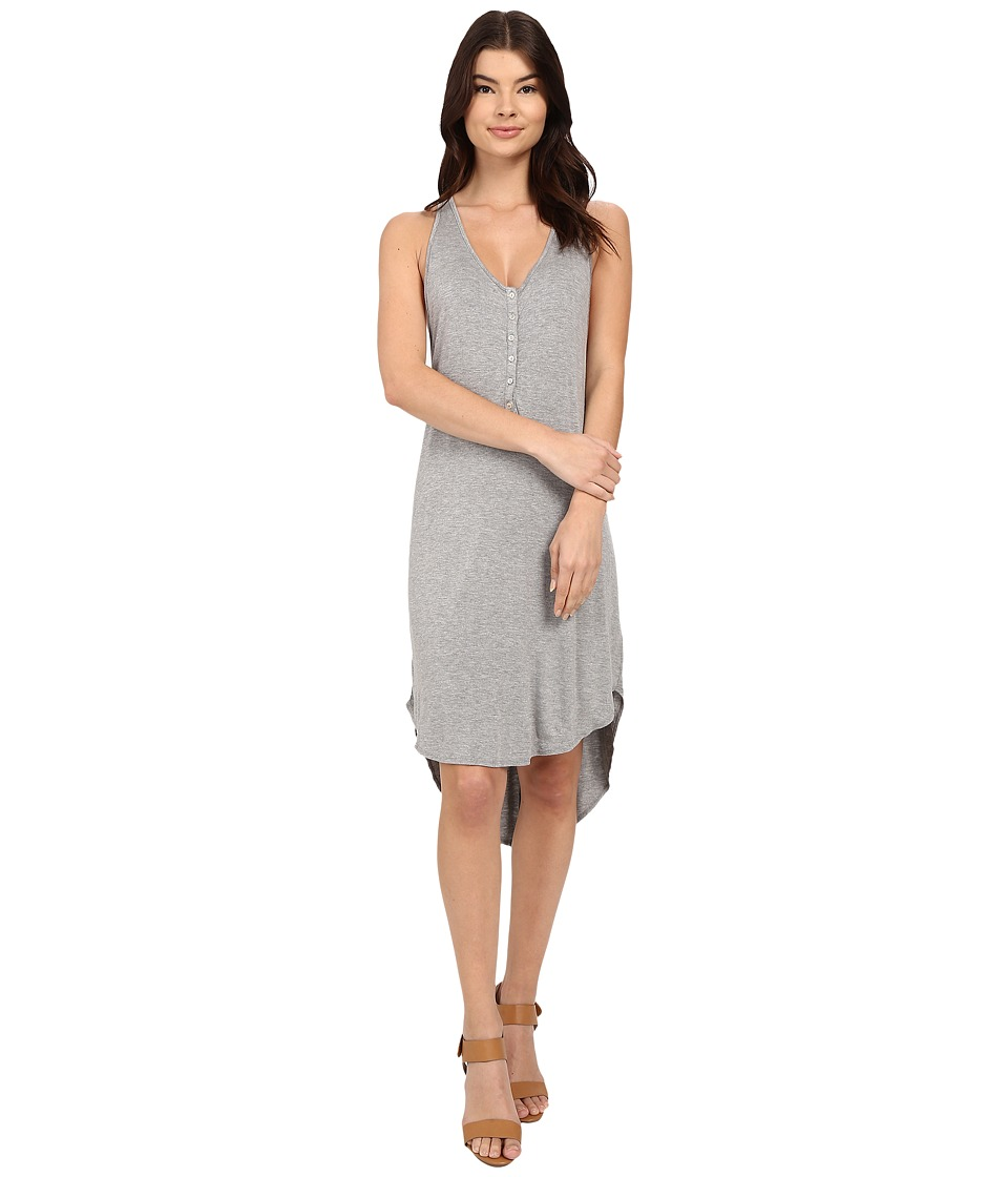 LAmade Lena Cami Nini Dress (Heather Grey) Women