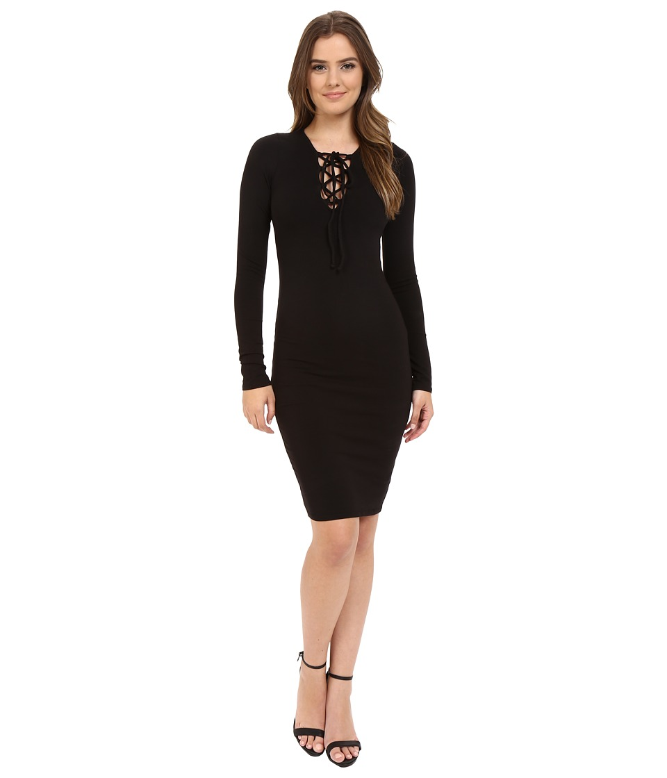 LAmade - Kayla Bodycon Dress (Black) Women's Dress