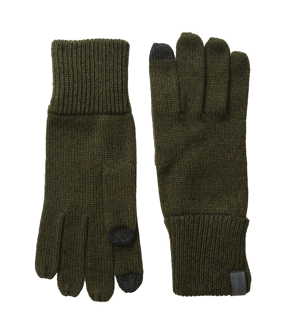 Arc'teryx - Diplomat Gloves (Caper/Dark Moss) Wool Gloves