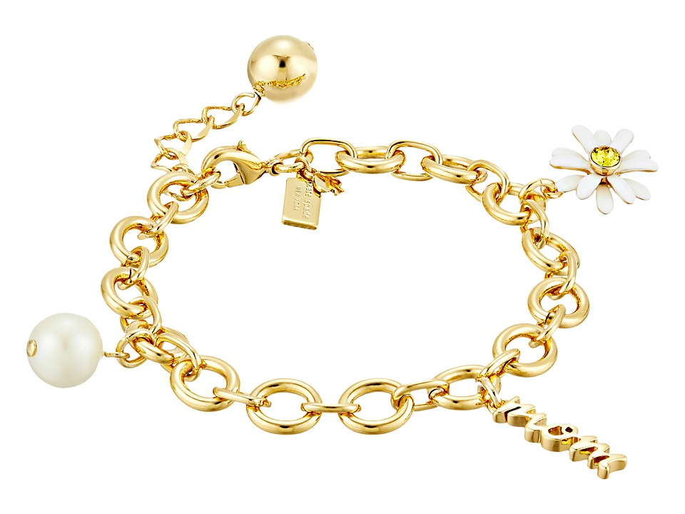 Kate Spade New York - How Charming Mother's Day Charm Bracelet (Cream/Multi) Charms Bracelet