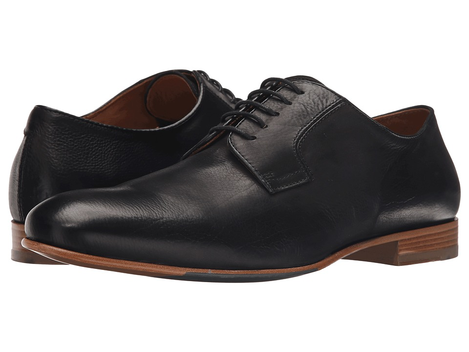 Massimo Matteo - Plain Toe (Black) Men's Plain Toe Shoes