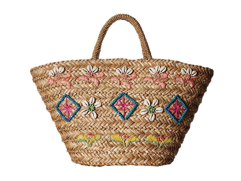 Hat Attack - Seashell Tote (Multi) Tote Handbags