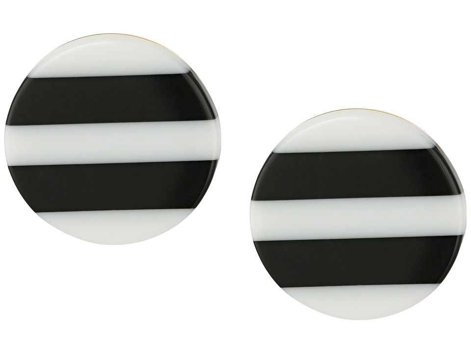 Kate Spade New York - Dot Dot Dot Studs Earrings (Black/Multi) Earring