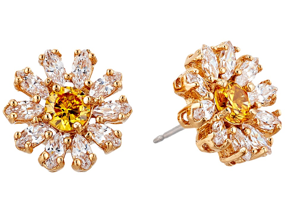 Kate Spade New York - Crystal Bouquet Studs Earrings (Clear/Multi) Earring