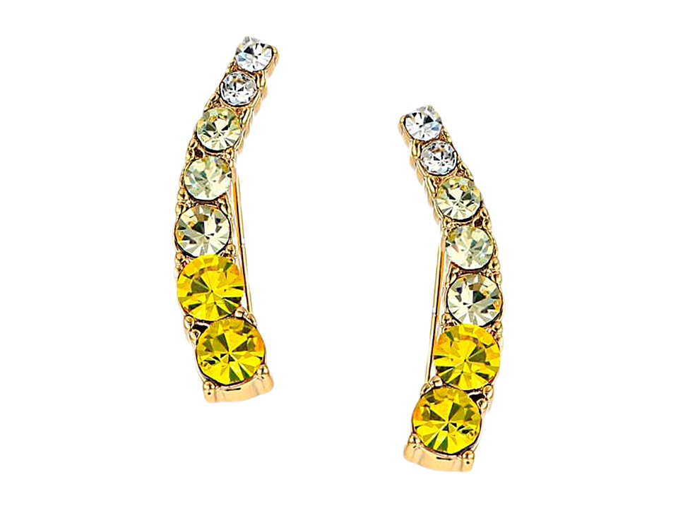 Kate Spade New York - Dainty Sparklers Ear Pin (Yellow/Multi) Earring