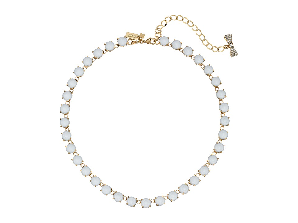 Kate Spade New York - Fancy That Necklace (Light Blue) Necklace