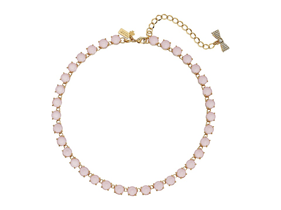 Kate Spade New York - Fancy That Necklace (Light Pink) Necklace