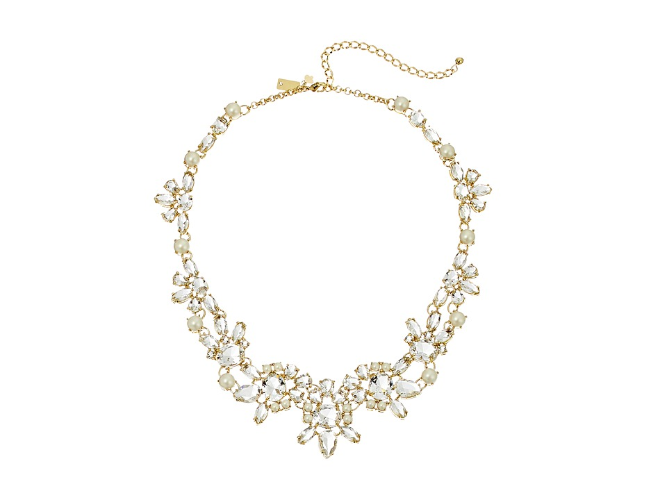 Kate Spade New York - Chantilly Gems Necklace (Cream/Multi) Necklace