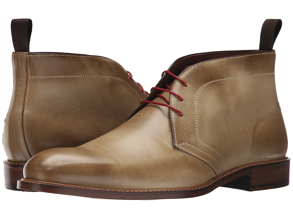 Massimo Matteo - 3-Eye Chukka (Taupe) Men's Lace-up Boots