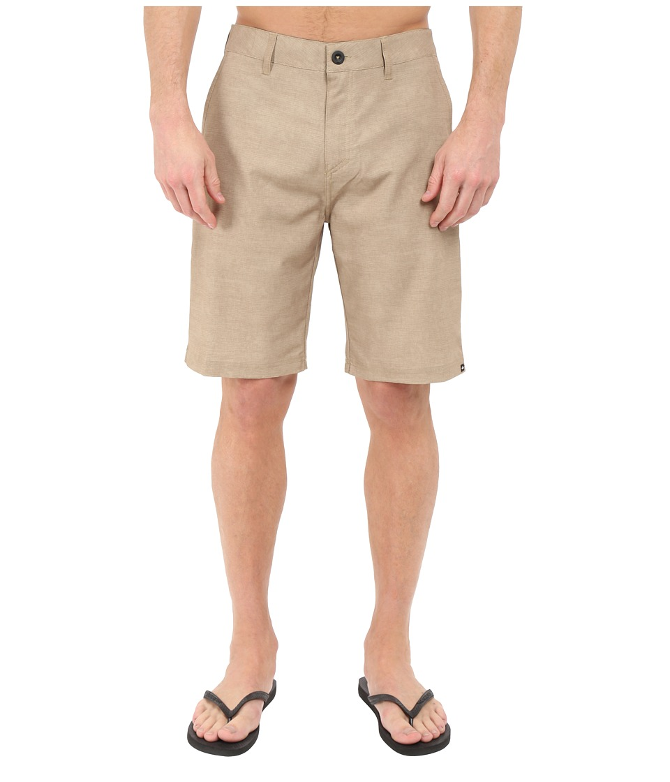 Quiksilver - Platypus Hybrid Shorts (Elmwood) Men's Shorts